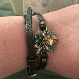 Chloe + Isabel leather wrap bracelet